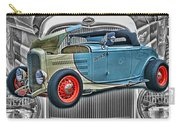 Street Rod In Grill Carry-all Pouch