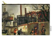Street Scene In Paris, 1926 Carry-all Pouch