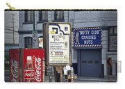 Street Scene With Coke Machine No. 2110 Carry-all Pouch