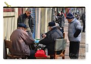 Street Scene With Mahjong Game Shanghai China Carry-all Pouch