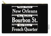Street Sign Scenes Of New Orleans Carry-all Pouch