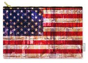 Street Star Spangled Banner Carry-all Pouch by Delphimages Photo Creations