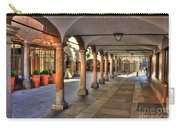 Street With Arches And Columns Carry-all Pouch