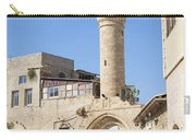 Street With Minaret In Tel Aviv Israel Carry-all Pouch
