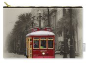 Streetcar On Canal Street - New Orleans Carry-all Pouch