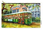 Streetcar On St.charles Avenue Carry-all Pouch by Diane Millsap