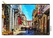 Streets Of Lisbon 1 Carry-all Pouch