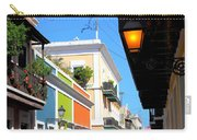 Streets Of Old San Juan Carry-all Pouch