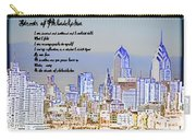 Streets Of Philadelphia Carry-all Pouch