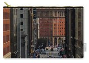 Streets Of San Fran Carry-all Pouch by Benjamin Yeager