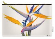 Strelitzia Flowers Carry-all Pouch