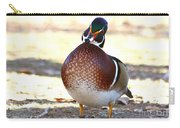 Like This Wood Duck Carry-all Pouch