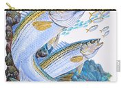 Striped Bass Rocks Carry-all Pouch