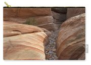 Striped Sandstone Carry-all Pouch