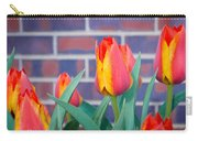 Striped Tulips Carry-all Pouch