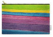 Stripes Original Painting Carry-all Pouch
