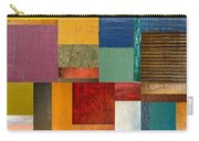 Strips And Pieces Ll Carry-all Pouch by Michelle Calkins
