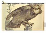 Strix Virginiana Owl Carry-all Pouch