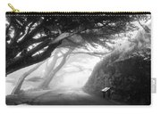 Stroll In The Fog Carry-all Pouch by Valeria Donaldson