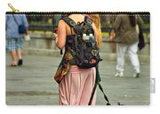 Strolling In Jackson Square Carry-all Pouch