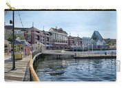 Strolling On The Boardwalk At Disney World Carry-all Pouch