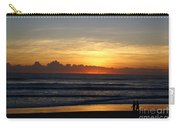 Strolling The Beach During Sunset Carry-all Pouch