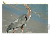 Strutting Heron Carry-all Pouch