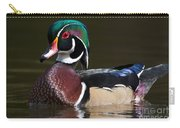 Strutting His Stuff - Wood Duck Carry-all Pouch