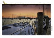 Stuart Marina At Sunset Carry-all Pouch