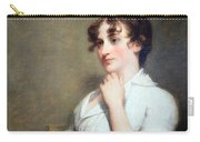 Stuart's Eleanor Parke Custis Lewis Or Mrs. Lawrence Lewis Carry-all Pouch