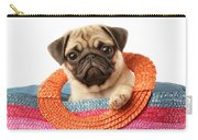 Stuck Pug Carry-all Pouch by Greg Cuddiford
