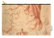 Studies For The Libyan Sibyl Carry-all Pouch