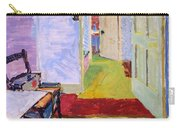 Studio Space, Ivor Street, Nw1 Oil On Canvas Carry-all Pouch