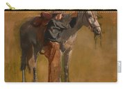 Study For Cowboys In The Badlands Carry-all Pouch