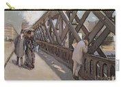 Study For Le Pont De L Europe Carry-all Pouch