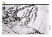 Study For The Creation Of Adam Carry-all Pouch