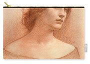 Study For The Lady Clare Carry-all Pouch