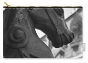 Study In Black And White Carry-all Pouch
