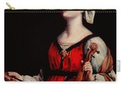 Study Of St. Cecelia Carry-all Pouch