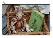 Stuffed Rabbit And Uncle Wiggly Book Carry-all Pouch