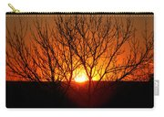 Stunning Stone Park Sunset Carry-all Pouch