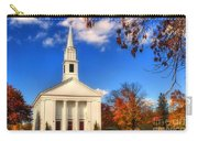 Sturbridge Church In Autumn Carry-all Pouch