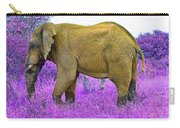 Styled Environment-the Modern Elephant Bull Carry-all Pouch