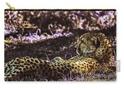 Styled Environment-the Modern Trendy Cheetah Carry-all Pouch