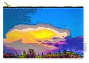 Stylised Sunset Carry-all Pouch