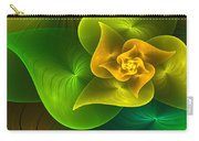 Stylized Philodendron Carry-all Pouch