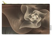 Stylized Philodendron Sepia Carry-all Pouch