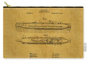 Submarine Patent 7 Carry-all Pouch