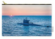 Submarine Sunset Carry-all Pouch