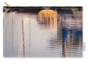 Subtle Colored Marina Reflections Carry-all Pouch